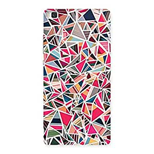 Neo World Abstract Colors Back Case Cover for Huawei P8