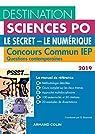 Destination Sciences Po - Le Secret, Le Numérique - Concours commun IEP par Bozonnet