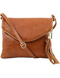 Tuscany Leather TL Young Bag Sac bandoulière avec pompon