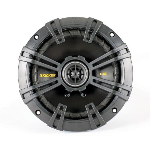 kicker css67Auto-Lautsprecher (300W max, 100W RMS, 2-Wege) schwarz