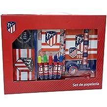 Atletico DE Madrid Set de papeleria 20 Piezas
