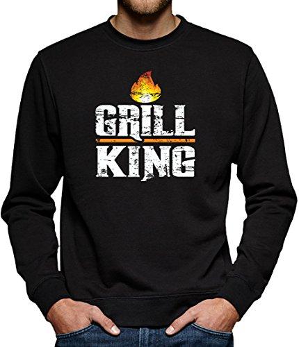 TLM Grill King Sweatshirt Pullover Herren XXXXL (Kostüm Grill)