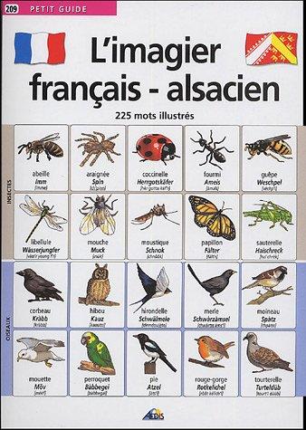 L'imagier français-alsacien : 225 mots illustrés