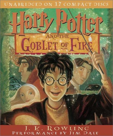 Click for larger image of Harry Potter and the Goblet of Fire