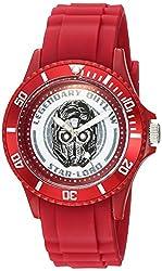 Marvel Guardian Quartz Plastic Casual Watch, Color:Red (Model: WMA000104)