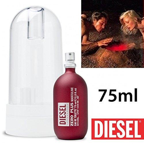 DIESEL ZERO PLUS by Diesel Eau De Toilette Spray 2.5 oz for Men - 100% Authentic by Diesel