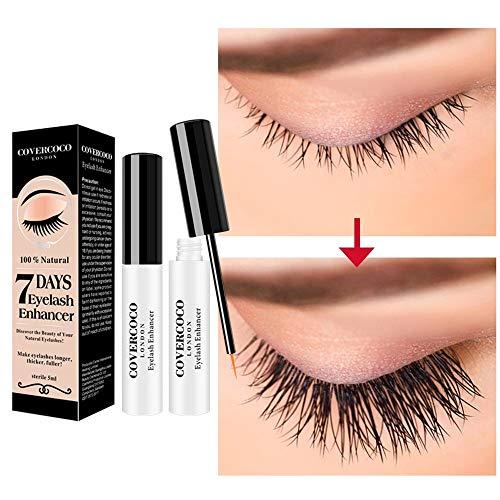 Cooljun Superlative Lash - sérum pour cils et sourcils | Booster pour une croissance rapide des cils, cils longs et épais | 5 ml Eyelash Activating Serum hautement dosé