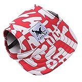 Samtlan - Taille S Petite chienne Pet Cat Baseball Visor Sports Hat Cap Puppy Summer Baseball Housses d'oreille extérieures Sunbonnet Outfit Bracelet en cuir élastique 6 couleurs 2 tailles disponibles(Lettres rouges)