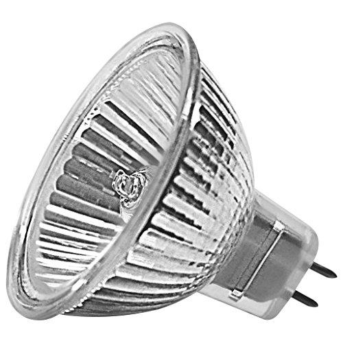 Müller Licht MR16 Halogenlampe Reflektor GU5.3 12 Volt 20 Watt 36 Grad (Niedervolt-beleuchtung Dimmen)