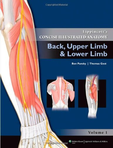Lippincott's Concise Illustrated Anatomy: Back, Upper Limb and Lower Limb by Ben Pansky (2011-08-01)