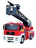 Dickie-Spielzeug 203442314 - Feuerwehr Leiterwagen