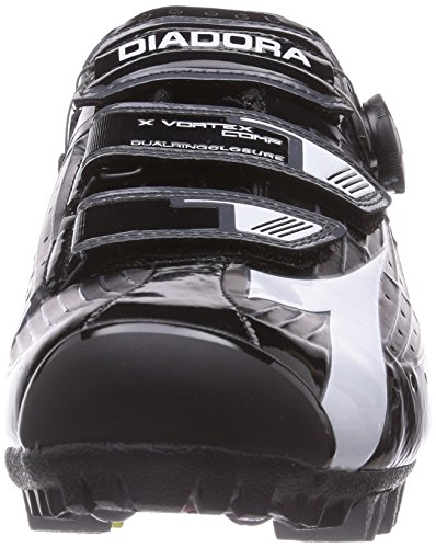 Vortex 6410 Bici Nero Bianco Comp Ciclismo Nero Unisex Scarpe Speciali Diadora X 5Bq8n4