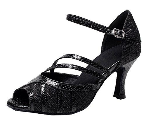 TDA - Peep-Toe donna 7.5cm Heel Black