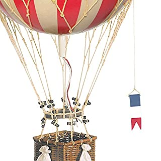 Authentic Models Replica Hot Air Balloon Royal Aero, True Red