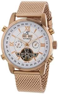 Ingraham Herren-Armbanduhr XL Calcutta Analog Automatik Edelstahl beschichtet IG CALC.1.223303