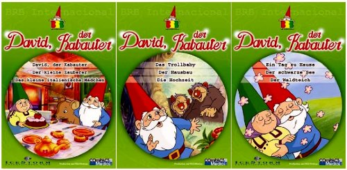 David, der Kabauter - Vol.  1-3 Set (3 DVDs)