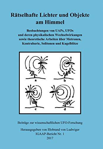 Rätselhafte Lichter und Objekte am Himmel - Beobachtungen von UAPs, UFOs und deren physikalischen Wechselwirkungen sowie theoretische Arbeiten über Metronen, Kontrabarie, Solitonen und Kugelblitze