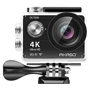 AKASO EK7000 Wi-Fi Ultra HD Waterproof Sports Action Camera (Black)