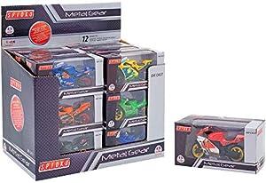 Globo Toys Globo-37063Spidko Moto- Rueda libre en una caja, 1 unidad modelos surtidos