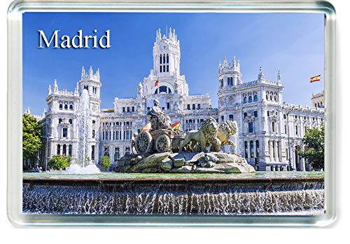 GIFTSCITY H246 Madrid Kühlschrankmagnet Spanien Spain Travel Fridge Magnet (Magnet Madrid)