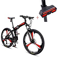 Bicicleta, Bicicleta De Montaña, 26 Pulgadas De 27 De Velocidad De Disco Doble Freno DeAcero alto en carbono De Alta Gama De Vehículos Todoterreno,Adecuado ...