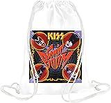 Kiss Sonic Boom Album Cover Drawstring bag
