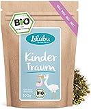 Kindertraum Bio-Kräutertee - 100g spezielle Bio-Kräuter für Sie - nach traditioneller Hebammenrezeptur - 30 Jahre Erfahrung mit Biokräutern - Hergestellt und kontrolliert in Deutschland (DE-ÖKO-005)