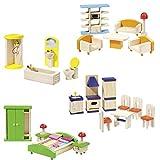 Howa Puppenhausmöbel aus Holz 17300