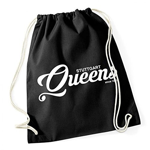 Stuttgart Queens Sac De Gym Noir Certified Freak