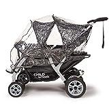 Childwheels Kinderwagen Krippenwagen Quadro Viersitzer