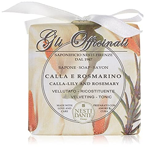 Nesti Dante Gli Officinali Calla-Lily and Rosemary Soap 200g