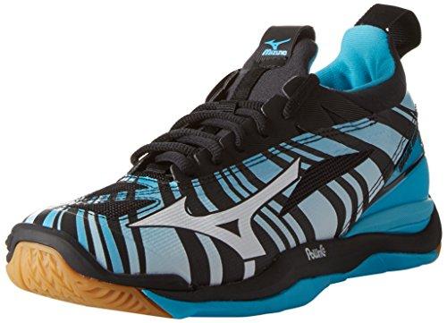 Mizuno Hombre Waver Mirage Zapatos de Gimnasia Azul Size: 42