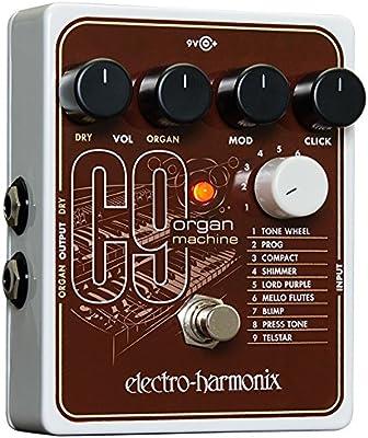 Electro Harmonix C9 Organ Machine · Pedal guitarra eléctrica