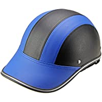 ed8820d96ac4bb CYSTYLE Motorradhelm Sommer Baseball Cap Stil Frauen Männer öffnen Half  Face Helm mit verstellbaren Strap Harley