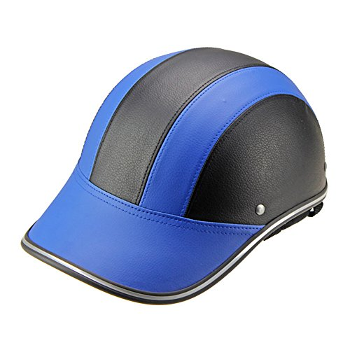 CYSTYLE Motorradhelm Sommer Baseball Cap Stil Frauen Männer öffnen Half Face Helm mit verstellbaren Strap Harley Driver Protector