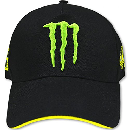 2014 Offizielle Valentino Rossi Monster Energy-Italien-Flagge VR46 GP Kappe (Baseball-hüte Lizenzierte)