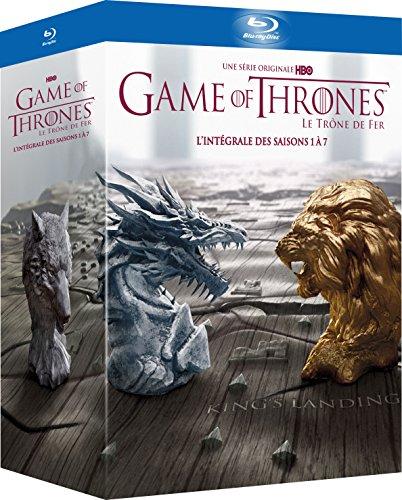 Game of Thrones – L'intégrale des Saisons 1 à 7 – Edition Limitée Inclus un Contenu Exclusif et Inédit « Conquête & Rébellion - L'histoire des Sept Couronnes » [BLURAY], DVD/BluRay