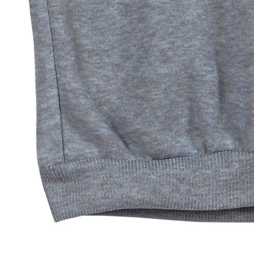 West See Damen Rundhals Hoodie Lässige Druck Mantel Tops Pullover Langarm Sweatshirt (DE 40(Herstellergrößer XXL), Pink) - 5
