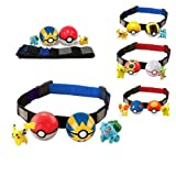 #9: POKEMON 2 RANDOM BALLS WITH CLIP & CARRY BELT AND WITH 2 RANDOM TOYS