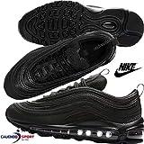 Nike Air Max 97 OG BG, Chaussures de Running Compétition garçon, Noir Black 001,...