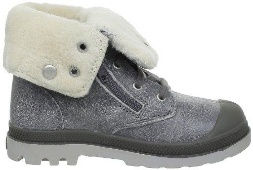 Palladium Baggy Lea Bb, mixte enfant-Boots mixte bébé Gris (791 Gray Pilot)