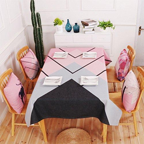 Copritavola in pvc spessa copertura per tavolo easy care coperta tavolo per uso esterno in cucina per uso esterno copripiletta per troppopieno (confezione da 1),110*170cm