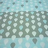 Einem Stück 50cm * 160cm Wolken Regentropfen Baumwolle Stoff Meter für Home Textil Baby Quilts Kissen nähen Stoff Material telas zu Patchwork rose
