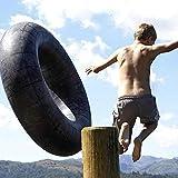 Espesar Tubo Deportivo Resistente a la Rotura Tubo de Nieve Flotador Inflable de Rafting en el río Tubos internos Salón Deportivo Flotador Inflable de Agua (27'Medio)