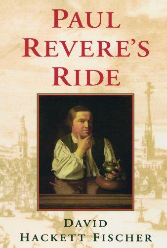 Paul Revere's Ride Lexington Oxford