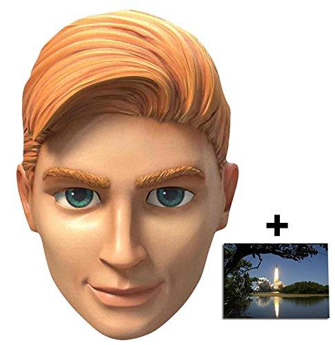 Puppet String Kostüm - John Tracy Thunderbirds Are Go Single Karte Partei Gesichtsmasken (Maske) Enthält 6X4 (15X10Cm) starfoto