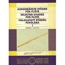 BANTAI y KOVACS - Estudios Selectos Vol.1 para Flauta