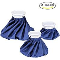 SoEasy 3Stück Wiederverwendbar Schmerzlinderung Hot Cold Ice Tasche, Schwellungen Physiotherapie Ice Kappe Kühler... preisvergleich bei billige-tabletten.eu