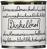 Hanauer Bio Dinkelbrot in der Dose, 2er Pack (2 x 180 g)