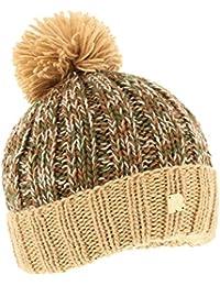 Toutacoo, Bonnet Multicolore en Laine - Tricoté à la Main